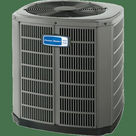 American Standard Silver 14 heat pump.