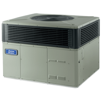 American Standard Platinum 16 Packaged Heat Pump System.