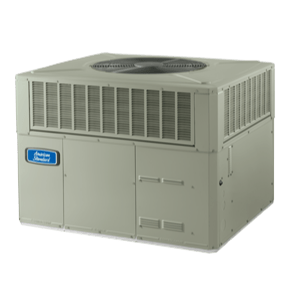 American Standard Silver 14 Packaged Heat Pump System.