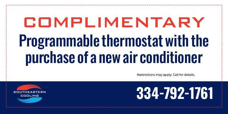Complimentary programmable thermostat